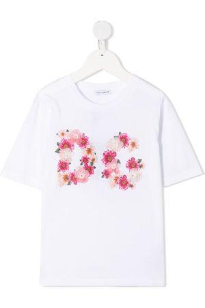 Dolce & Gabbana Kids Floral-print short-sleeve T-shirt