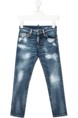 Dsquared2 Kids Ripped skinny jeans