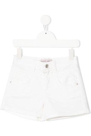 Alberta Ferretti Kids Denim mini shorts