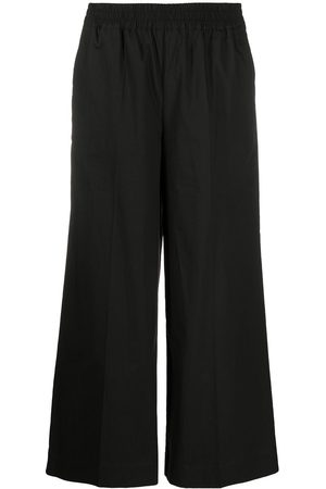 P.A.R.O.S.H. Wide leg cropped trousers