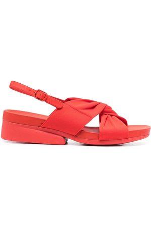 Camper Minikaah cross strap sandals