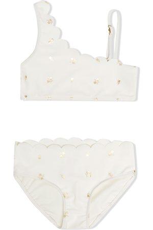 Chloé Kids Floral-print two-piece bikini