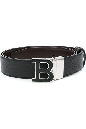 Bally Heren Riemen - Logo buckle belt