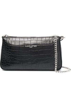 Lancaster Dames Clutches - Embossed logo clutch