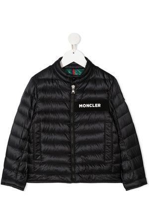 Moncler Enfant Jongens Donsjassen - Feather down padded jacket