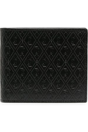 Saint Laurent Heren Portemonnees - Perforated leather wallet