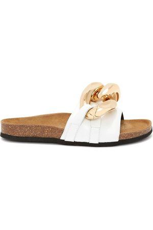 JW Anderson Dames Teenslippers - Chain Loafer slides