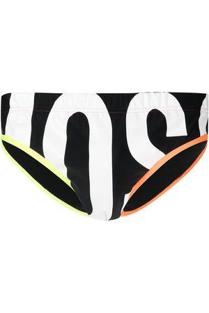 Moschino Logo-print swimming trunks