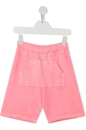 Douuod Kids Patch pocket-detail shorts
