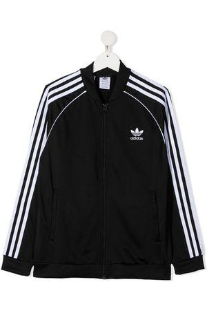 adidas Kids TEEN signature three stripe jacket