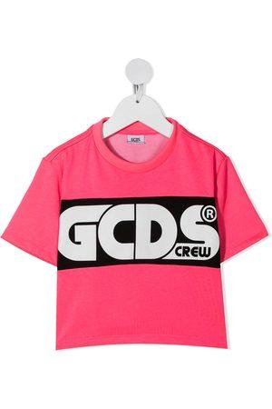 Gcds Kids Jongens T-shirts - Logo print T-shirt