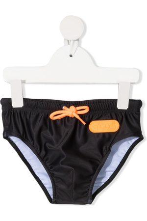 Gcds Kids Jongens Slips - Logo-print drawstring swimming trunks