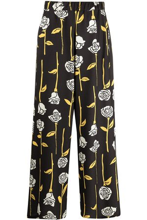 Opening Ceremony ALL OVER ROSES WIDE LEG PANT PAPYR