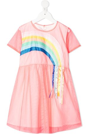 Billieblush Meisjes Casual jurken - Rainbow tulle skater dress