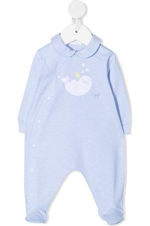Il Gufo Pyjama's - Embroidered seal pyjamas