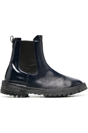 Moma Ridged-sole ankle boots