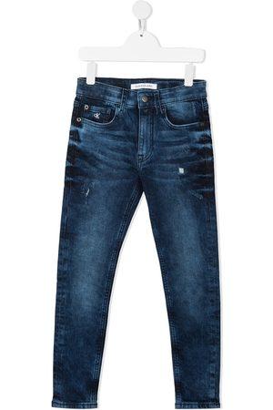 Calvin Klein Kids Meisjes Slim - Slim fit jeans