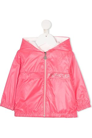 Moncler Enfant Bomberjacks - Logo-print jacket