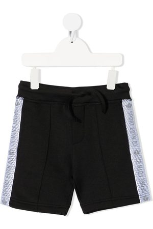 Dsquared2 Kids Jongens Korte broeken - Sports Edition logo trim casual shorts