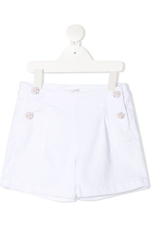 Charabia Embellished button shorts