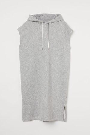 H & M Sweaterjurk met kap