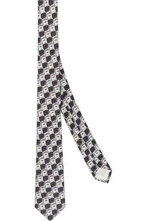 Fendi Packaging-print tie