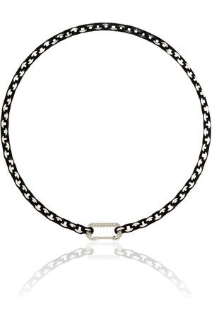 Eera 18kt white gold Lucy diamond-embellished choker