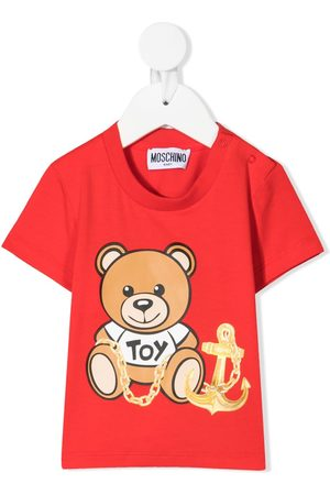 Moschino Kids Teddy-print T-shirt