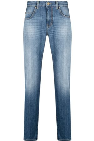 Z Zegna Light-wash slim-fit cotton jeans