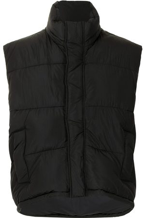 Balenciaga High-neck gilet jacket