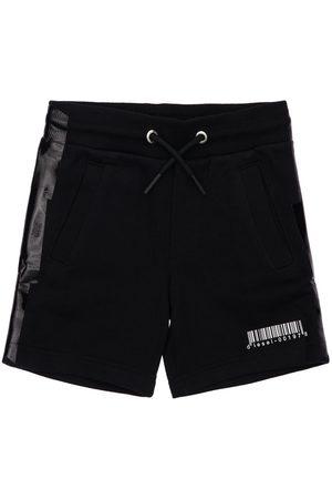 DIESEL KIDS Printed Cotton Shorts