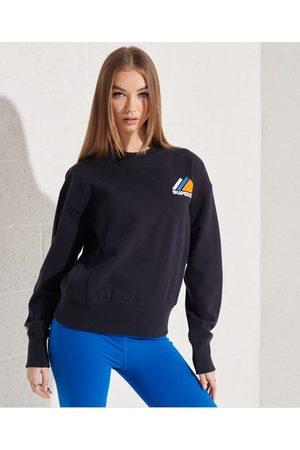 Superdry Dames Sweaters - Mountain Sport sweatshirt met ronde hals