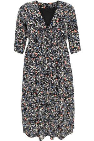 Yoek Dames Geprinte jurken - Jurk 'Flower Rain