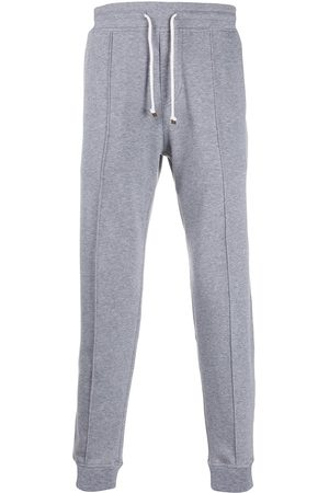 Brunello Cucinelli Contrast waist and cuffs track pants