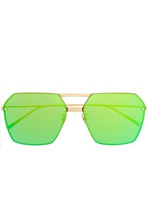 Bottega Veneta Eyewear Oversized geometric sunglasses