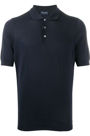 Drumohr Plain short-sleeved polo shirt