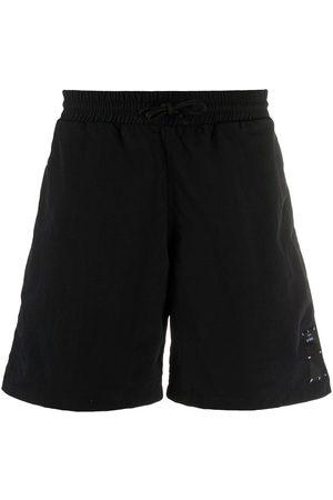 McQ Swallow Logo front swim shorts