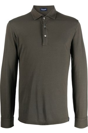 Drumohr Long-sleeved polo shirt