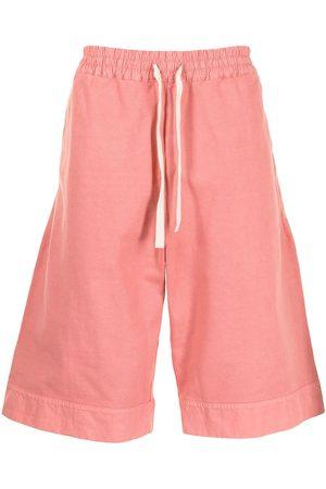 Jil Sander Knee-length cotton deck shorts