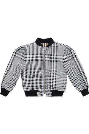 Burberry Vintage Check reversible bomber jacket