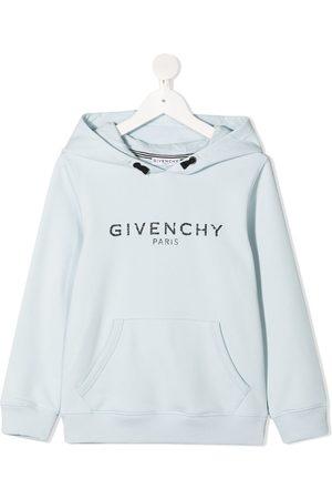 Givenchy Kids Logo-print cotton hoodie