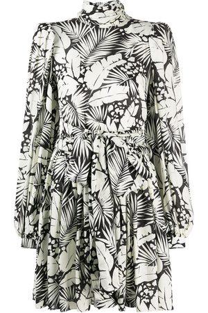 Saint Laurent Floral-print minidress