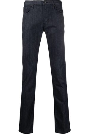 Emporio Armani Slim-cut dark-wash jeans
