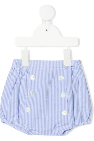 Siola Shorts - Striped button-up shorts