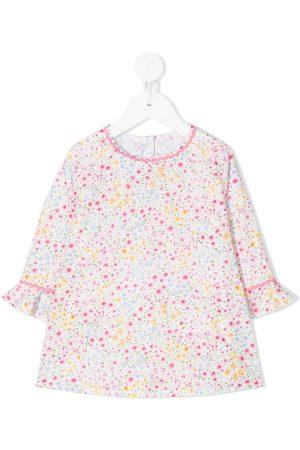 Siola Floral-print round neck dress