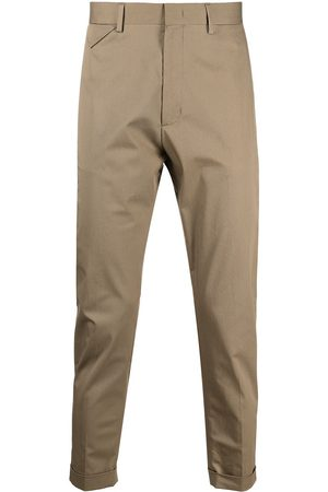 Low Brand Cropped leg chinos
