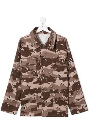Douuod Kids Camouflage cotton shirt
