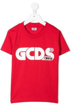 Gcds Kids Cotton logo-print T-shirt