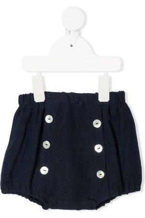 SIOLA Shorts - Button-up linen shorts