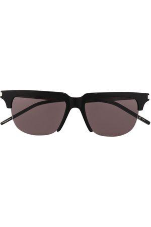 Saint Laurent YSL Classic 11 half-rim sunglasses